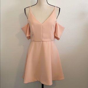 DO+BE Cold Shoulder Blush Dress